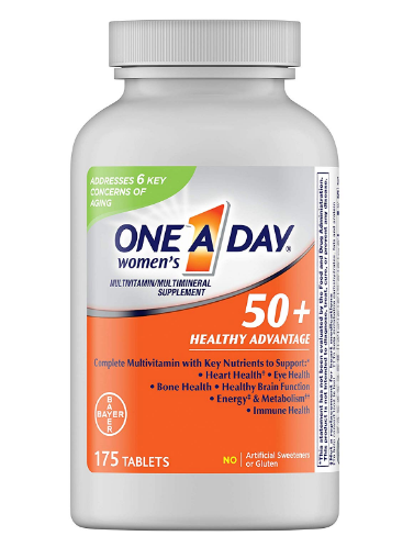 bayer one a day 50 plus