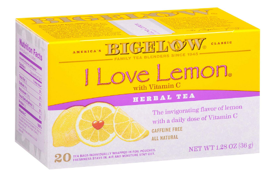 bigelow i love lemon with vitamin c