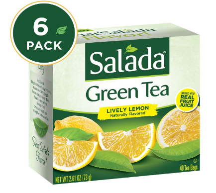 salada green tea bags