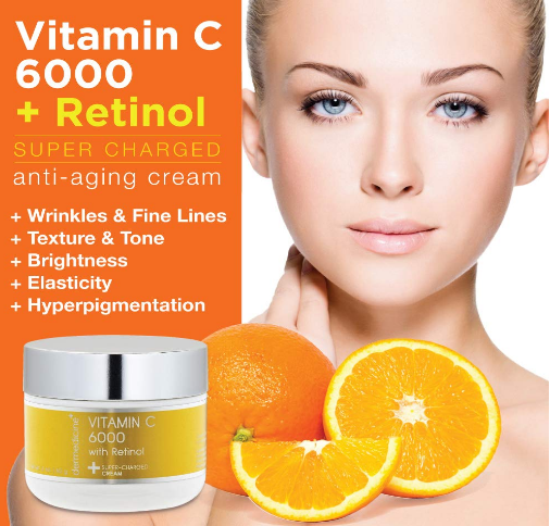 dermedicine retinol vitamin c collagen cream